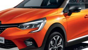 Первые фото нового Renault Captur