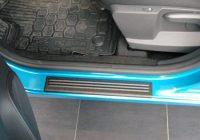 Зачем нужны накладки на пороги автомобиля