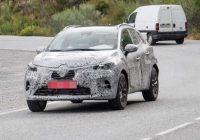 Первые фото нового Renault Captur 2019 года в камуфляже
