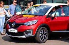 В Белоруссии начались продажи Renault Kaptur Technology
